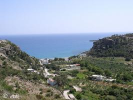 Die Bucht der Agia Fotia