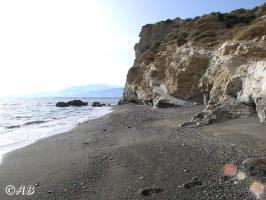 Der Strand direkt unterhalb der ''Oase am Meer''