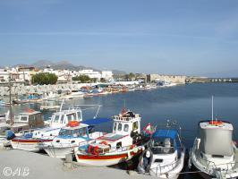 Der kleine Fischerhafen von Ierapetra