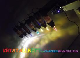 Kristallbeleuchtung Originalaufnahme