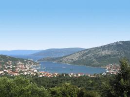 Foto 6 KROATIEN Trogir Ferien-Wohnungen mit Pool und Meerblick