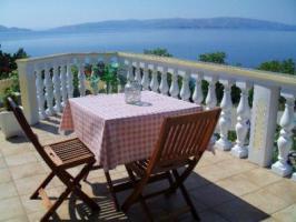 Terrasse mit Panorama Meerblick