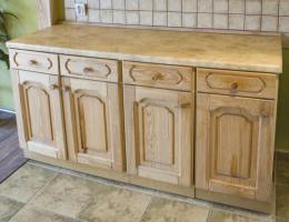 Kuchen Sanierung Holz Kuchenfronten Arbeitsplatten Modernisieren In