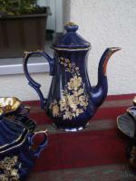 Foto 2 Kaffeeservice Kobalt Blau für 6 Pers.