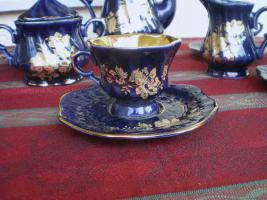 Foto 3 Kaffeeservice Kobalt Blau für 6 Pers.