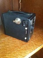Foto 2 Kamera: Alte Agfa Kamera mit Box.