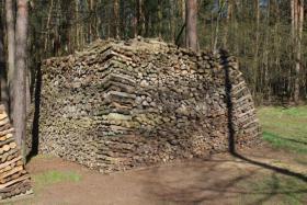 Foto 3 Kaminholz Haufen mit 42,5 RM vorwiegend Laubholz mit 50cm Länge; Ofenholz, Brennholz