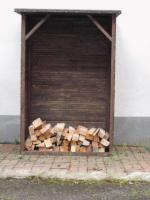 Foto 2 Kaminholzschrank, Kaminholzregal, Holzregal, Stapelhilfe