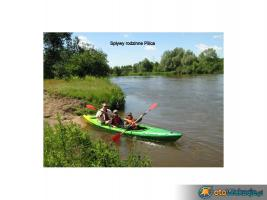 Kanu fahren auf Pilica, Radomka und Weichsel