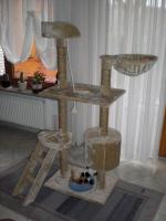 Foto 2 Katzenbaum beige ca. 1,40 hoch