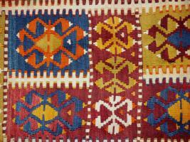 Foto 4 Kazak Kasak Kelim antik 390x126 (T012)