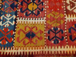 Foto 5 Kazak Kasak Kelim antik 390x126 (T012)