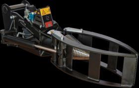 Foto 2 Kegelspalter mit Greifer Black Splitter SG1 / Holzspalter / Erdbohrer / Holzgreifer