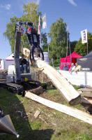 Foto 6 Kegelspalter mit Greifer Black Splitter SG1 / Holzspalter / Erdbohrer / Holzgreifer