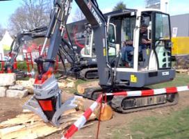 Foto 3 Kegelspalter mit Greifer Black Splitter SG3 / Holzspalter / Erdbohrer / Holzgreifer