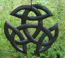 Kelten Schnitzerei, Handarbeit Schnitzkunst der Kelten