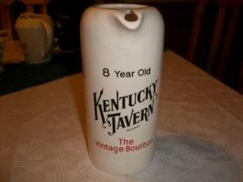 Kentucky Tavern The Vintage Bourbon Whisky Wasserkrug Whisky Krug  weiß