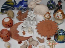 Keramikformen zu verkaufen, ich schließe die Werkstatt