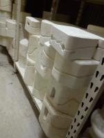 Foto 4 Keramikgießformen ca1500 Stück Gießformen für Flüssigton oder Keramik