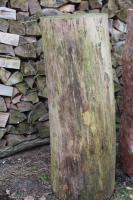 Foto 2 Kiefern-Hackklotz für Brennholz klein machen, 30cm Schlagfläche