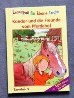 Kinderbuch, Kondor und die Freunde vom Pferdehof, ab 8 Jahre