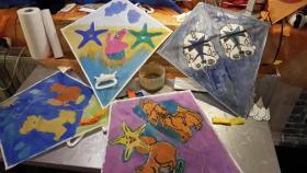 Foto 11 Kindergeburtstag Party als Drachenbastel Event Workshop in Nrw