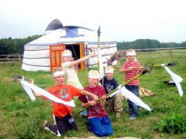 Foto 3 Kinderland-Schorfheide Klassenfahrten, Erlebnisferien, Reiterferien, Indianerferien