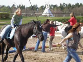 Foto 4 Kinderland-Schorfheide Klassenfahrten, Erlebnisferien, Reiterferien, Indianerferien