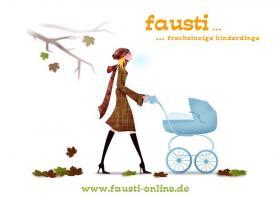 Kinderwagenhandschuh Fausti Muff für den Kinderwagen