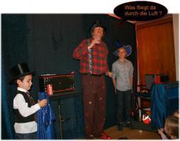 Kinderzauberer Mr. Woddy