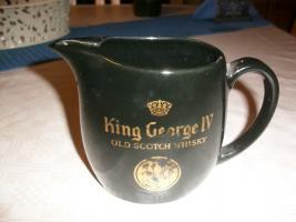 Foto 3 King Georg   Old Scotch Whisky  Krug Wasserkrug schwarz