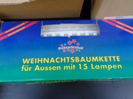 Foto 2 Kiste Weihnachtsdekoration 7 Lichterketten Elektrik Funktioniert