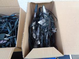 Foto 3 Kiste Weihnachtsdekoration 7 Lichterketten Elektrik Funktioniert