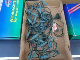 Foto 5 Kiste Weihnachtsdekoration 7 Lichterketten Elektrik Funktioniert