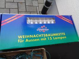 Foto 6 Kiste Weihnachtsdekoration 7 Lichterketten Elektrik Funktioniert