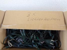 Foto 7 Kiste Weihnachtsdekoration 7 Lichterketten Elektrik Funktioniert