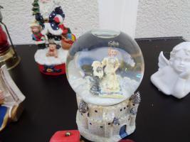 Foto 3 Kiste Weihnachtsdekoration Windpyramide+Spieluhr+ Elektrische Kerze u.v.m