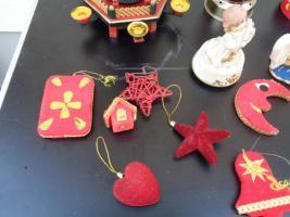 Foto 11 Kiste Weihnachtsdekoration Windpyramide+Spieluhr+ Elektrische Kerze u.v.m