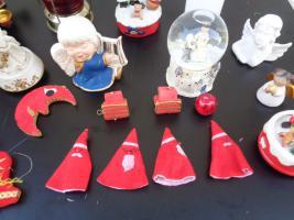 Foto 12 Kiste Weihnachtsdekoration Windpyramide+Spieluhr+ Elektrische Kerze u.v.m