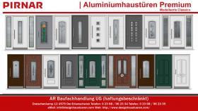 Klassische Aluminiumhaustüren Haustüren Eingangstüren
