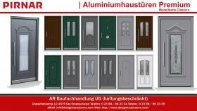 Foto 2 Klassische Aluminiumhaustüren Haustüren Eingangstüren