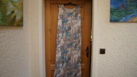 Kleid o.Arm, Gr. 46, Raubtierprint, neu