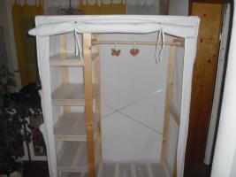 Foto 3 Kleiderschrank Stoff Weiß