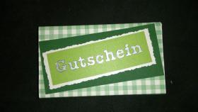 Foto 2 Kleine Geschenke/ Gutschein im Schachteli