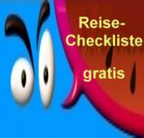 Kleine Reise-Checkliste gratis