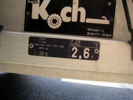 Foto 7 Koch Anhänger 2.6to
