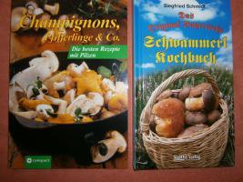 Kochbücher Pilze - Kochbücher neu ungebraucht beide zusammen 9 Euro