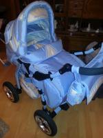 Kombi-Kinderwagen.Babyschale, laufgitter, Hochstuhl