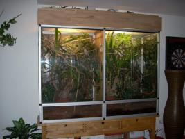 Komplett Terrarium mit Zubehör