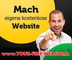 Kostenlose Webseite mit Shop in 5 Minuten